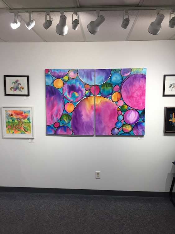 """""""Spheres of Completion"""" by Melynda Van Zee at Ankeny Art Center Ankeny, IA"""